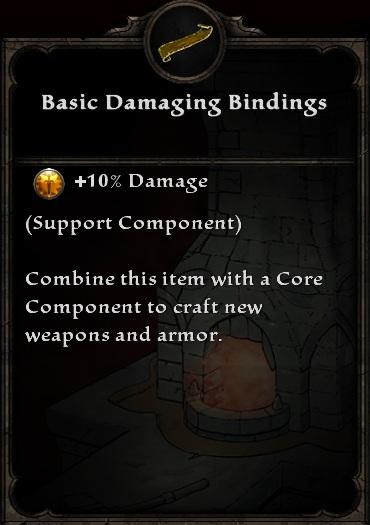 Basic Damaging Bindings