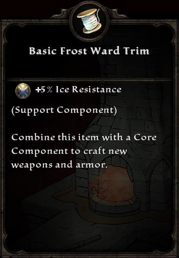 Basic Frost Ward Trim