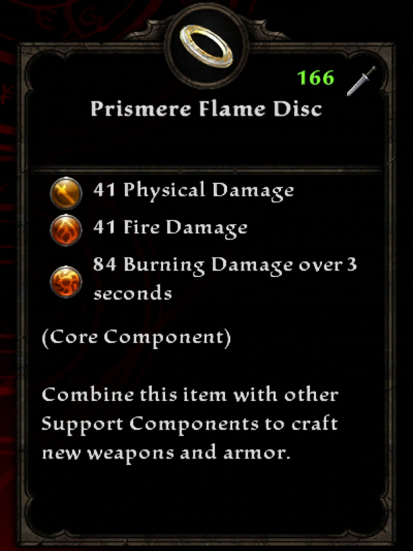 Prismere Flame Disc