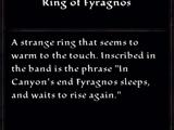 Ring of Fyragnos