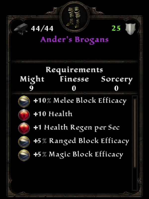 Ander's Brogans