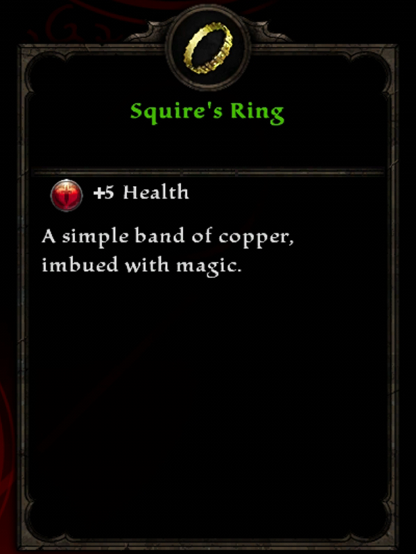 Squire's Ring