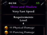 Shine and Shadow (Weapon)