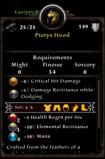 Pteryx Hood