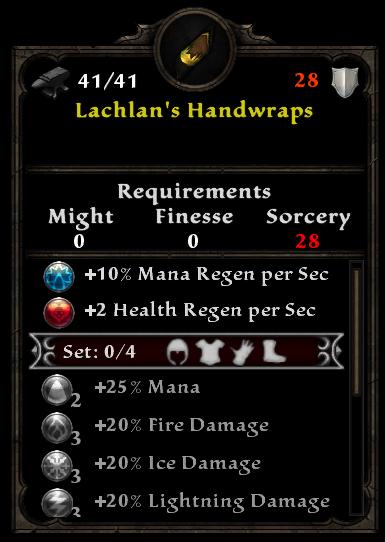 Lachlan's Handwraps