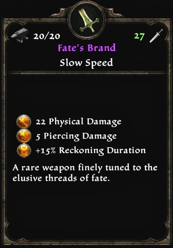 Fate's Brand