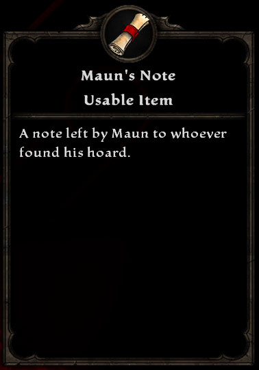 Maun's Note