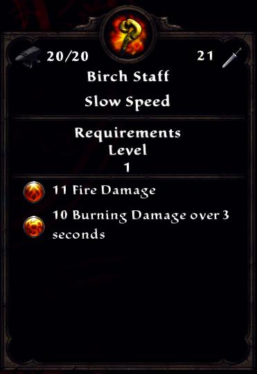 Birch Staff