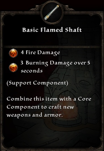 Basic Flamed Shaft