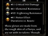 Pteryx Talons