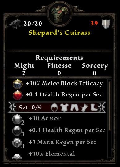 Shepard's Cuirass