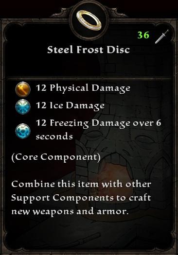 Steel Frost Disc