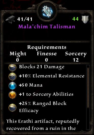 Mala'chim Talisman