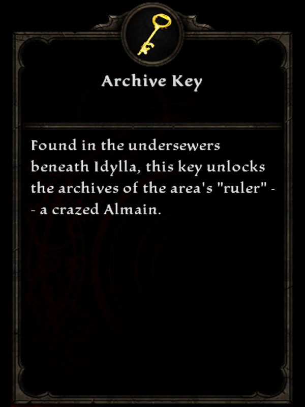 Archive Key