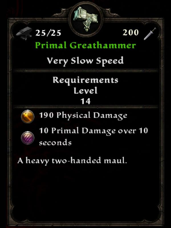 Primal Greathammer