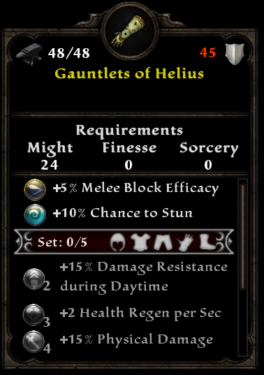 Gauntlets of Helius