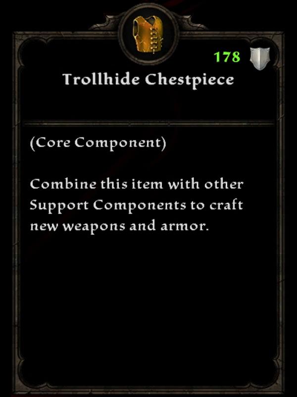 Trollhide Chestpiece
