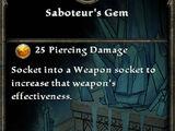 Saboteur's Gem