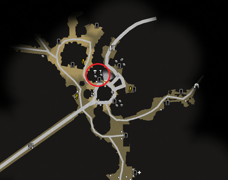 Cyf Cadyr Map Location.png