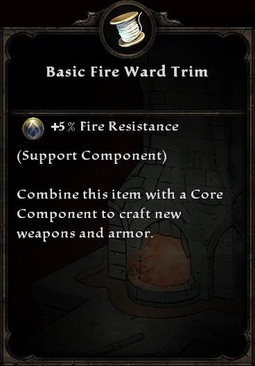 Basic Fire Ward Trim