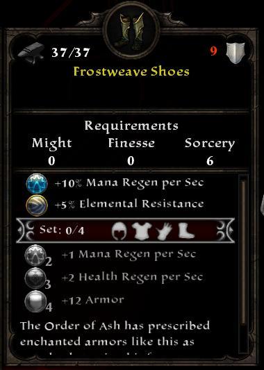 Frostweave Shoes