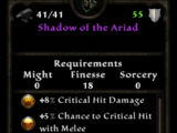 Shadow of the Ariad