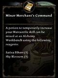 MinorMerchantsCommand