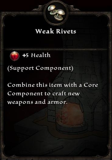 Weak Rivets