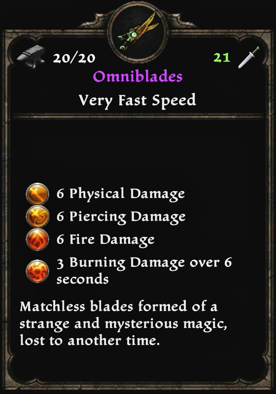 Omniblades