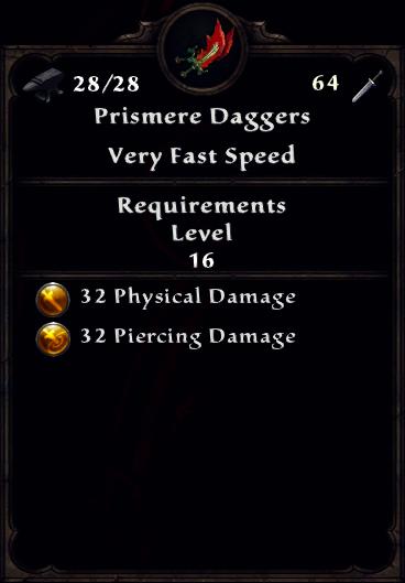 Prismere Daggers