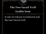 The Two-Faced Troll