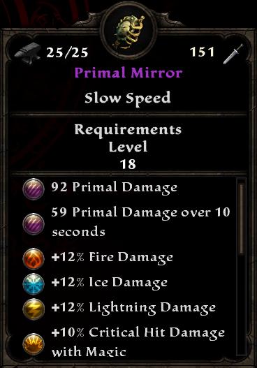 Primal Mirror