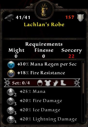 Lachlan's Robe