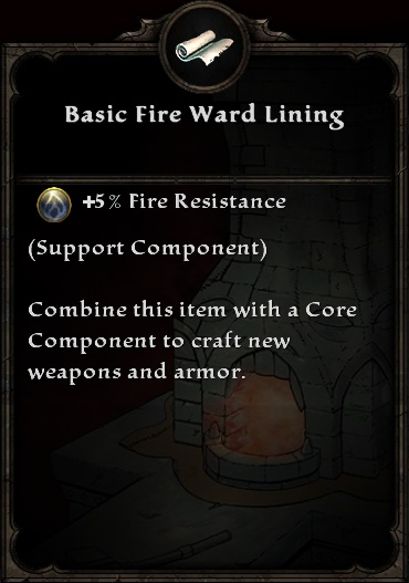 Basic Fire Ward Lining