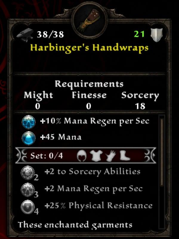 Harbinger's Handwraps
