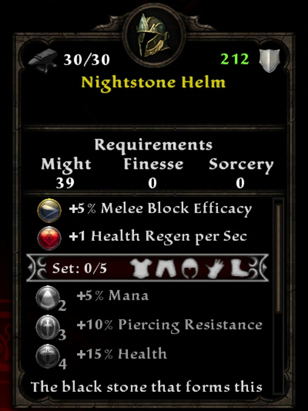 Nightstone Helm