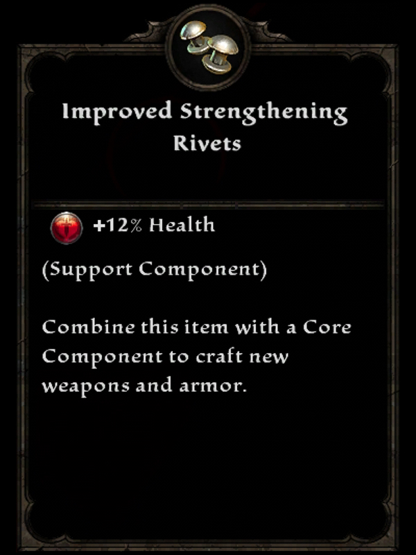 Improved Strengthening Rivets