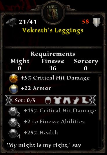 Vekreth's Leggings
