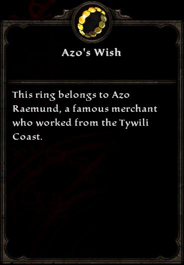 Azo's Wish