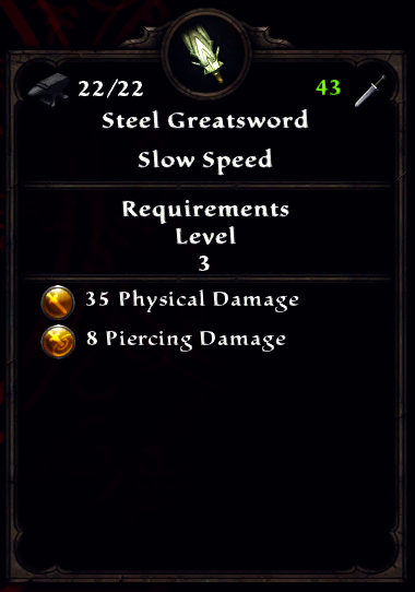 Steel Greatsword