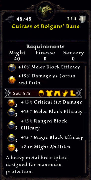 Cuirass of Bolgan's Bane Inventory.png