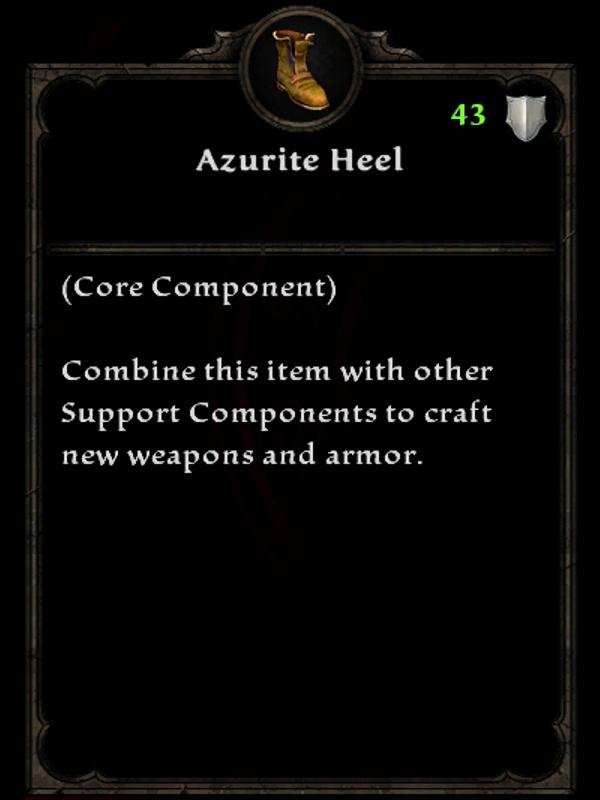 Azurite Heel