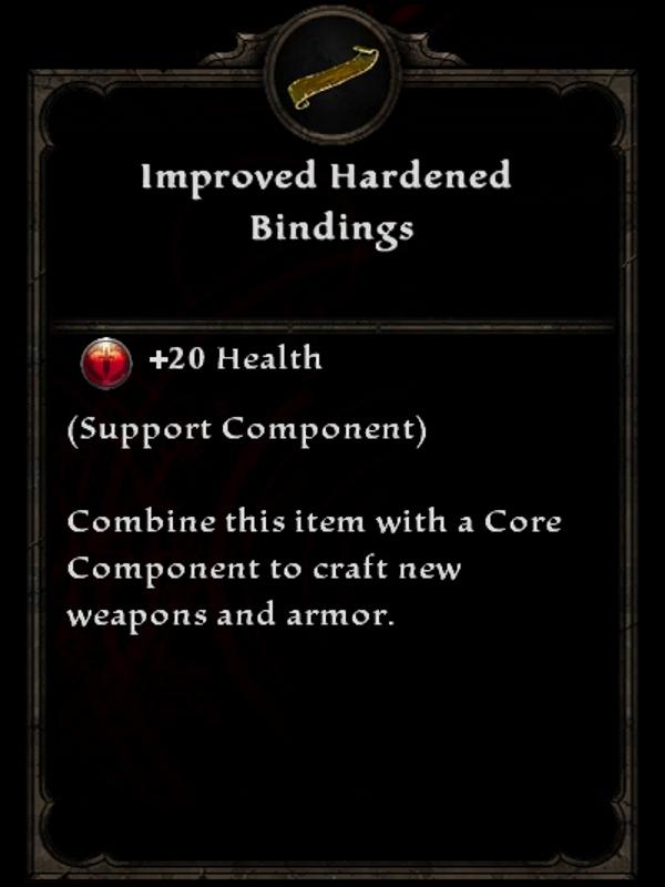Improved Hardened Bindings