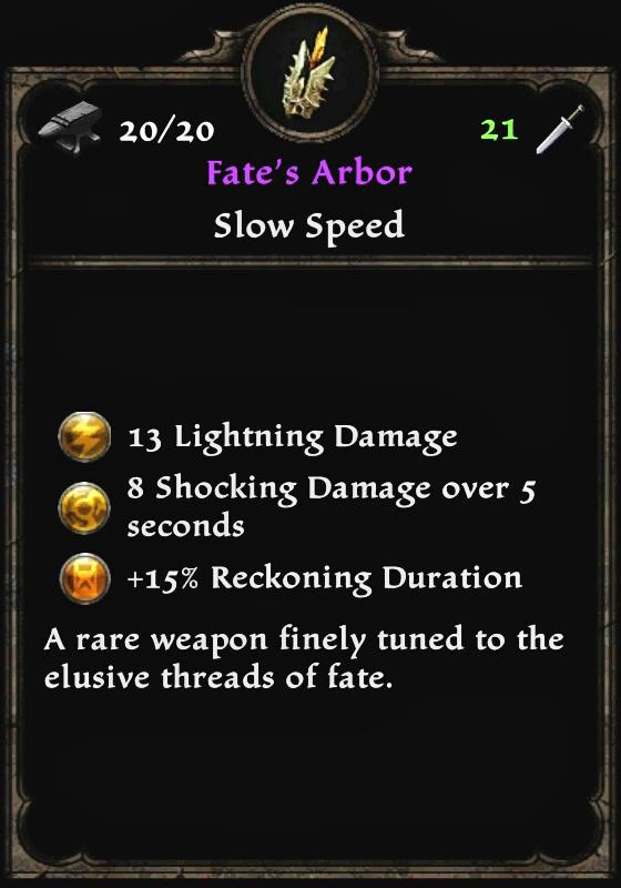 Fate's Arbor