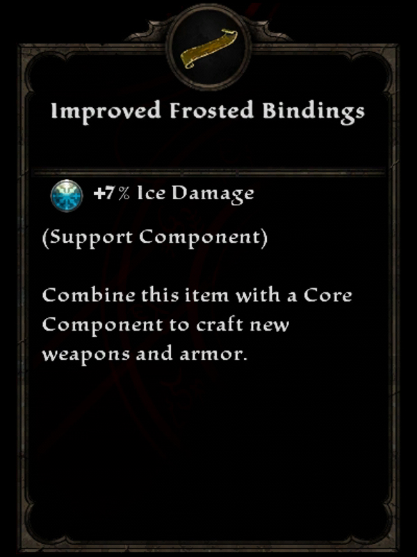 Improved Frosted Bindings