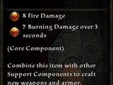 Birch Flame Dowel