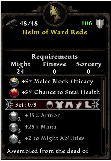 Helm of Ward Rede