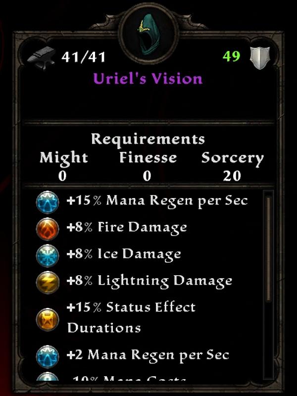 Uriel's Vision