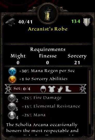 Arcanist's Robe
