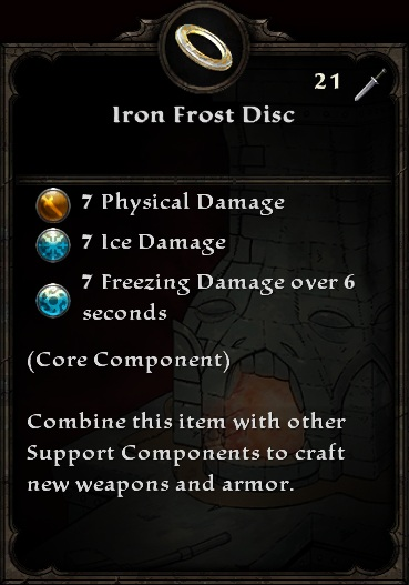 Iron Frost Disc